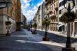 Beautiful street in Geneva, Switzerland.