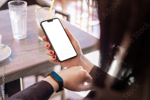 Fotomural Smart phone mockup