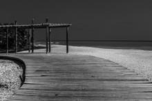 Dramatic Black And White Image...