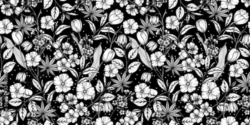floral-black-and-white-seamless-pattern-spring-background-from-flowers-of-apple-cherry-sakura