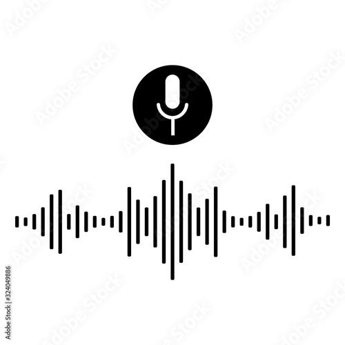 Fotografija Sound audio wave