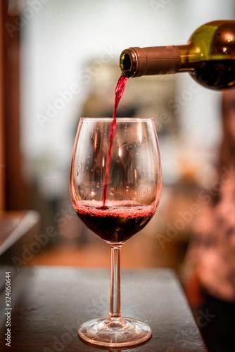 copa de vino Canvas Print