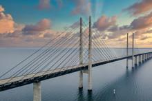 The Oresund Bridge Between Cop...