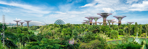 Gardens by the Bay in Singapore Wallpaper Mural