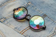 Designer Glasses With Kaleidos...
