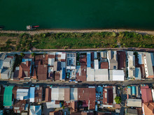 Aerial View Of Chiang Khan Cit...