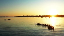 Sunset Aerial View At Octuple ...