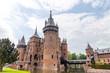 Famous castle. Utrecht, the Netherlands.