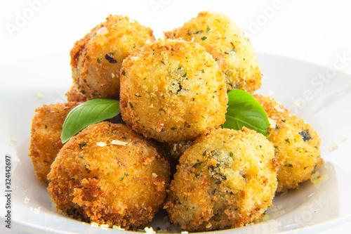 Fototapeta Deep Fried Risotto Balls obraz