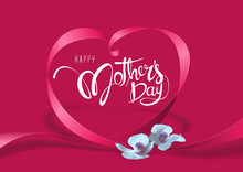 Happy Mother's Day Purple Gree...