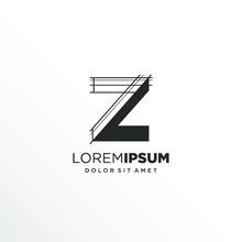 Letter Z Logo Design With Architecture Element