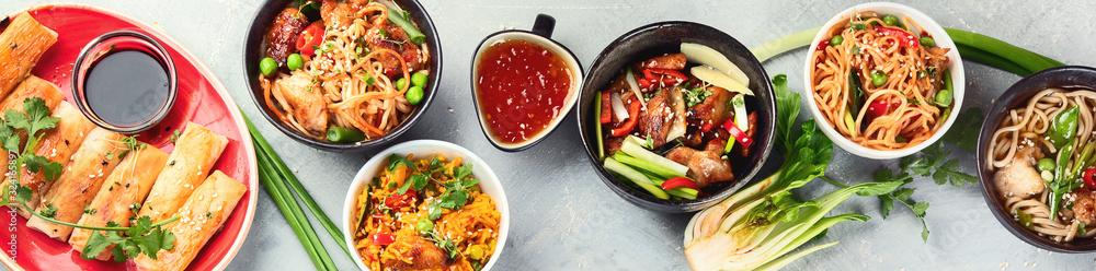 Fototapeta Chinese dishes
