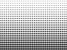 Halftone Vector Of Abstract He...