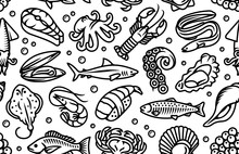 Seafood, Fish And Sea Animals ...