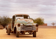 Abandoned, Old Car From Solita...