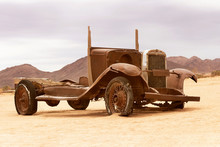 Abandoned, Old Car From Solitaire, Namibia