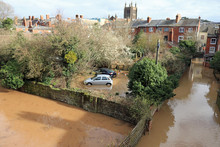 Flooding In The City Of Hereford