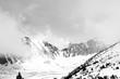 Strbske Pleso im Winter hohe Tatra, Slovakei verschneite Berge