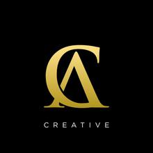 Ca Or Ac Logo Design Vector Ic...