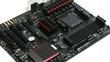 Motherboard computer with details cooling memory and processor