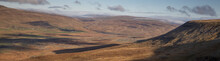 View From Ingleborough Across To Ribblehead Viaduct