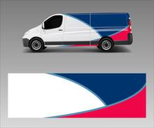 Van Decal Wrap Design Vector F...