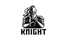Vector Illustration Of Knight ...