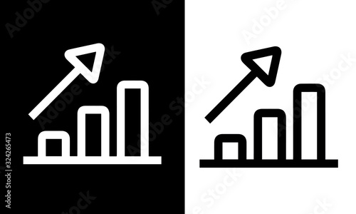 Photo Manager and Corporate icons vector design black and white
