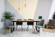 Modern Wooden Dining Table In ...