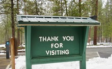 Thank You For Visiting Sign Di...