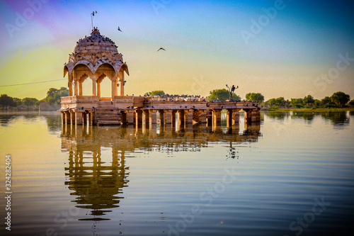 Beaautiful Travel photos of india lakes summer and architecture Wallpaper Mural