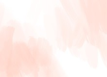 Water Color, Pink, White Backg...