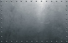Metal Background With Rivets, ...
