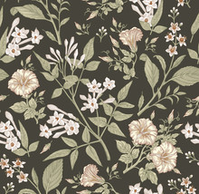 Seamless Pattern. Beautiful Fa...