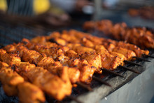 Paneer Fish Chicken Tikka Roas...