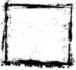 Grunge Distressed Frame Border Background