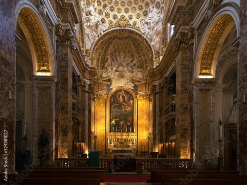 Church of San Luigi dei Francesi, Rome Tableau sur Toile