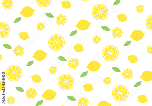 レモンのパターン背景