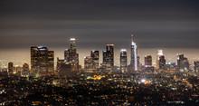 Los Angeles City Night Lights