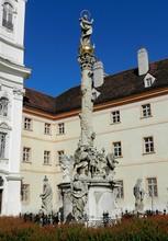 Vienna, Austria, Marian Column At Maria Treu Church