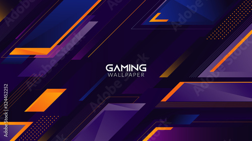 Geometric Abstract Gaming Wallpaper 4k Buy This Stock Vector And Explore Similar Vectors At Adobe Stock Adobe Stock