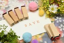 Save アルファベット テキスト 文字 英字 単語 スタンプ 素材 alphabet Letter Word Text Stamp