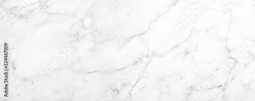 Fototapeta Marble granite white panorama background wall surface black pattern graphic abstract light elegant black for do floor ceramic counter texture stone slab smooth tile gray silver natural. obraz