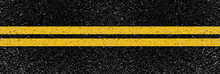 Yellow Lines On The Road