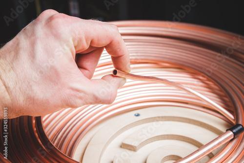 repairing, work, manufactury concept Canvas Print