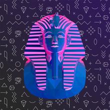 Psychedelic Vaporwave Tutankha...