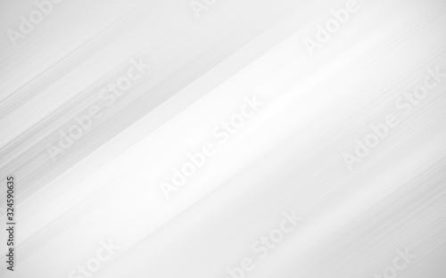 Fototapeta abstract white and silver are light pattern gray with the gradient is the with floor wall metal texture soft tech diagonal background black dark clean modern. obraz na płótnie