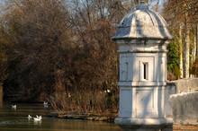 Old Sentry Box In Aranjuez Gardens