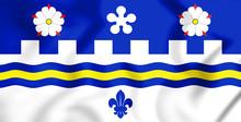 3D Flag Of Coquitlam (British ...