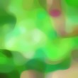 canvas print picture - blurred square format background bokeh graphic with moderate green, tan and light green colors and free text space